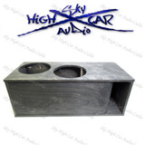"2 X 15"" SUBWOOFER ENCLOSURE SUB UP/PORT BACK 6.25 CF"
