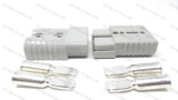50a/600v Pair Connector W/ Contacts 8GA