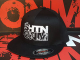 SHTNONM- OG FLEX FIT FLAT BILL HAT