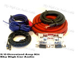 Sky High Car Audio 2/0 XL CCA Amp Kit
