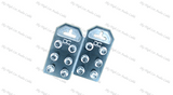 DC Audio Flat 6 Spot Aluminum Battery Terminals