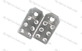 DC Audio SAE Flat 6 Aluminum Battery Terminals