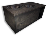 "2 X 15"" SUBWOOFER ENCLOSURE SUBS UP/PORT BACK  8.0CF"