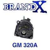 Brand X GM 320A Alternator  05-13