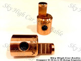 Copper Sky High Car Audio Copper 2/0 XL to 1/0 Reducers