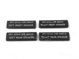 Sky High Car Audio Speaker Location Heat Shrink - 10 pack