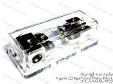 (3) 4ga to (2) Separate  8 ga Mini ANL Fused Distribution Block