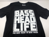 Basshead Life Clothing Men's Box Logo Black/White