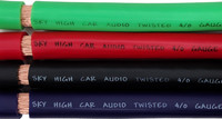 Sky High Car Audio CCA 4/0 XL Gauge - By The Foot