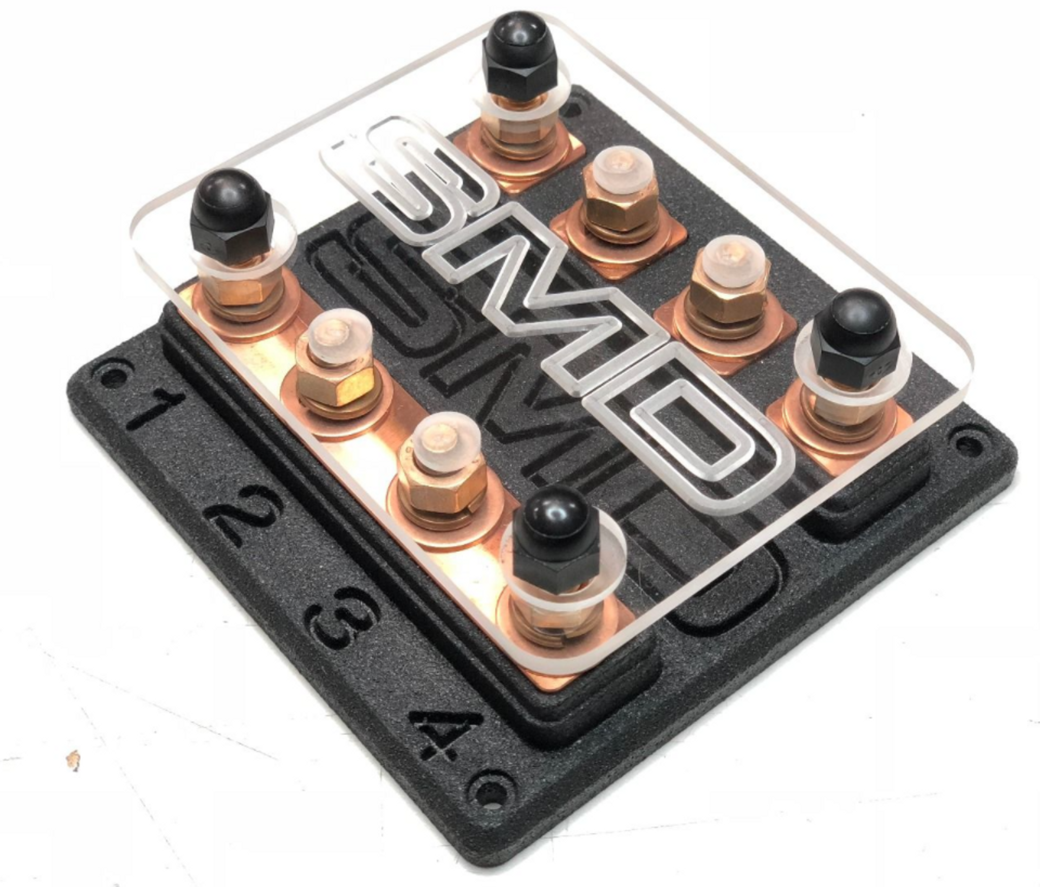 SMD Heavy Duty Quad ANL Fuse Block Copper - Sky High Car AudioSky High Car Audio