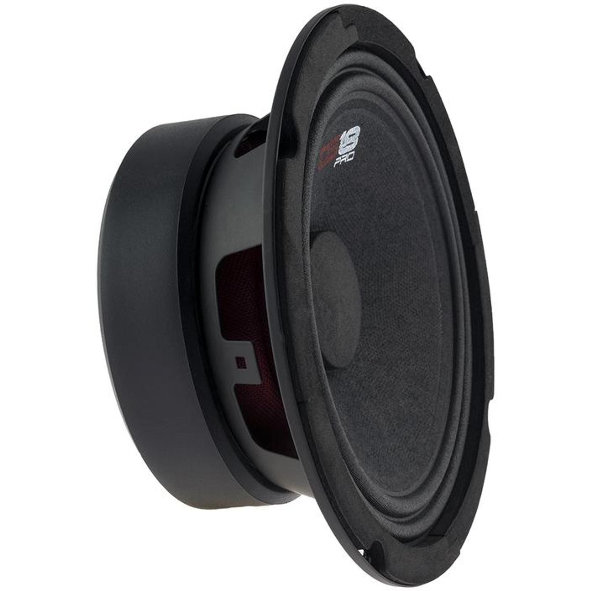 "4 NEW DS18 PRO-GM6 6.5/"" Midrange Loudspeakers 8 ohm Speakers Mid Range"