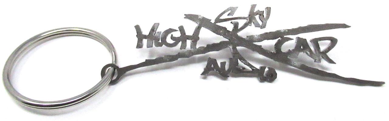 """SHCA Keychain metal X logo 2.25"""""""