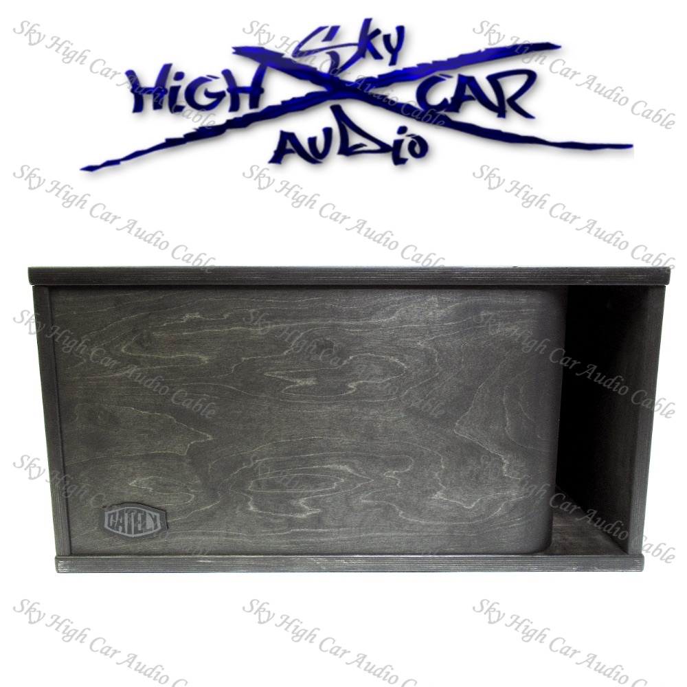 "ONE 18"" SUBWOOFER ENCLOSURE 6.25 CF SUB UP/PORT BACK"
