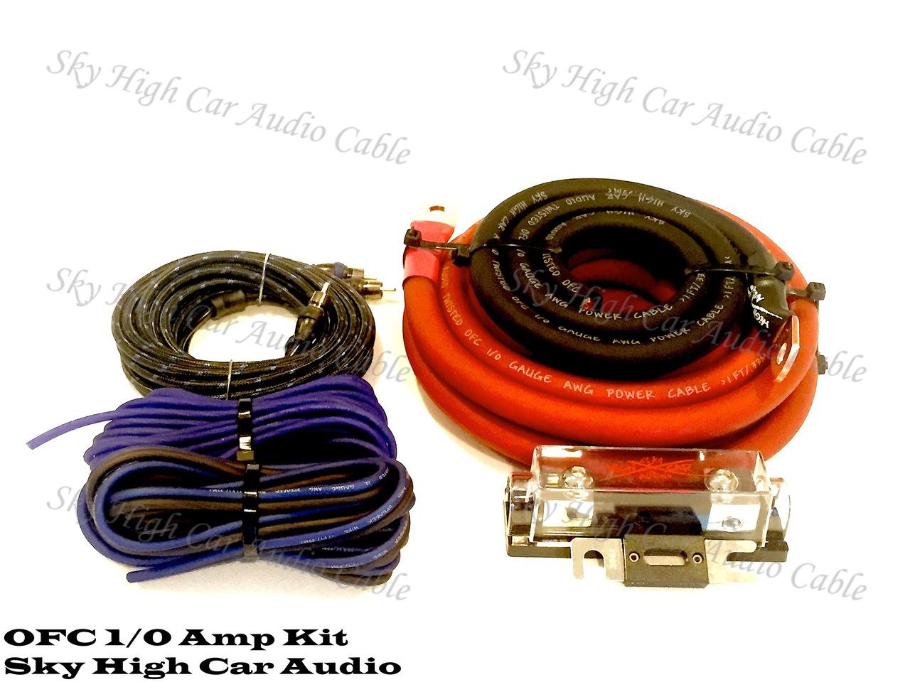 Amp Wiring Kit 0 Gauge - All Diagram Schematics