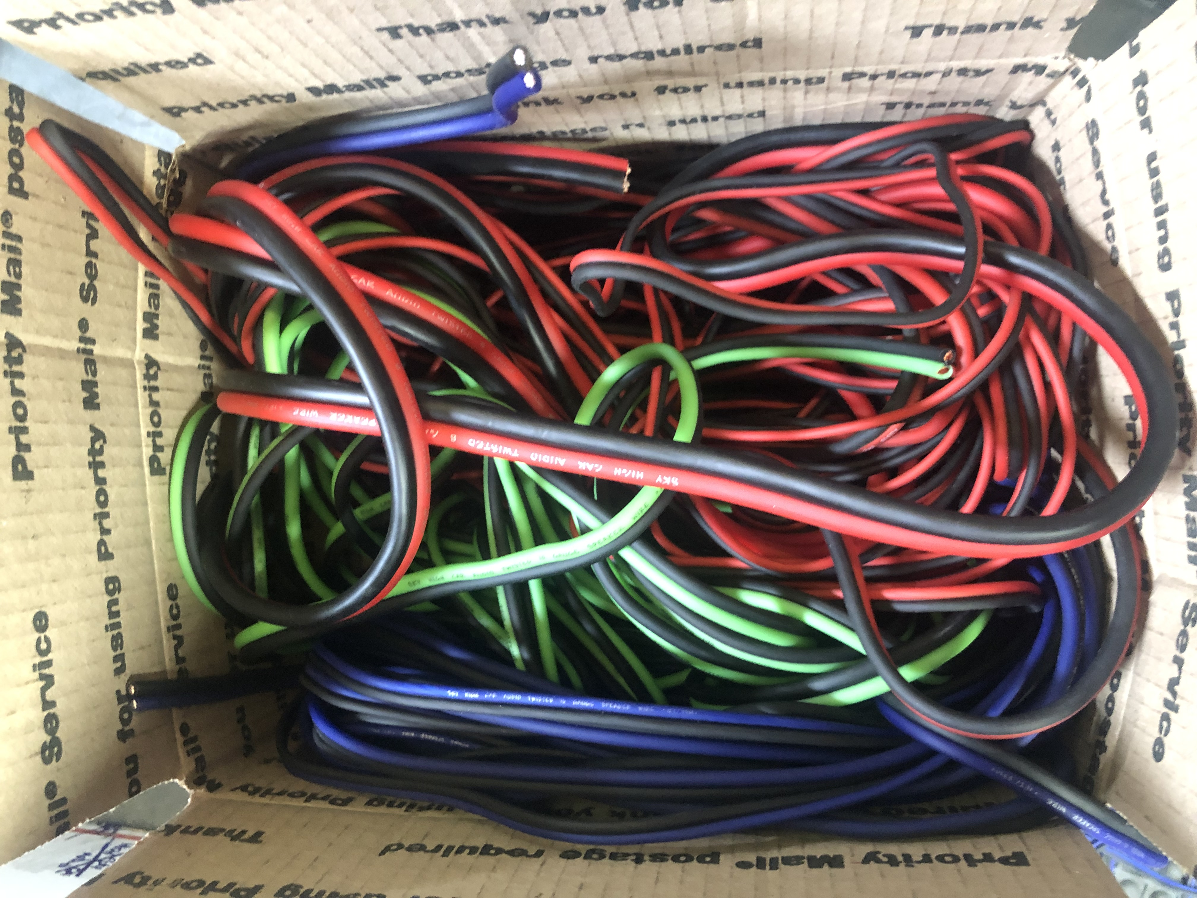 OFC/CCA Speaker Wire Medium Mystery Box
