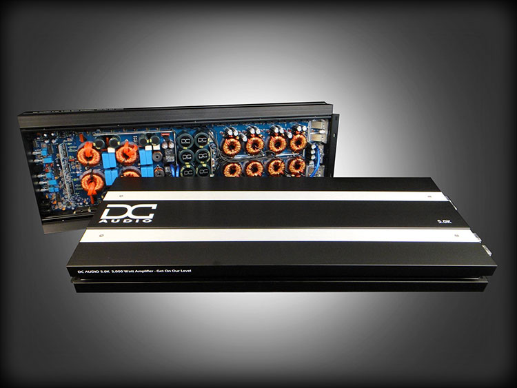 DC Audio 5.0k - 5,000w Monoblock Amplifier