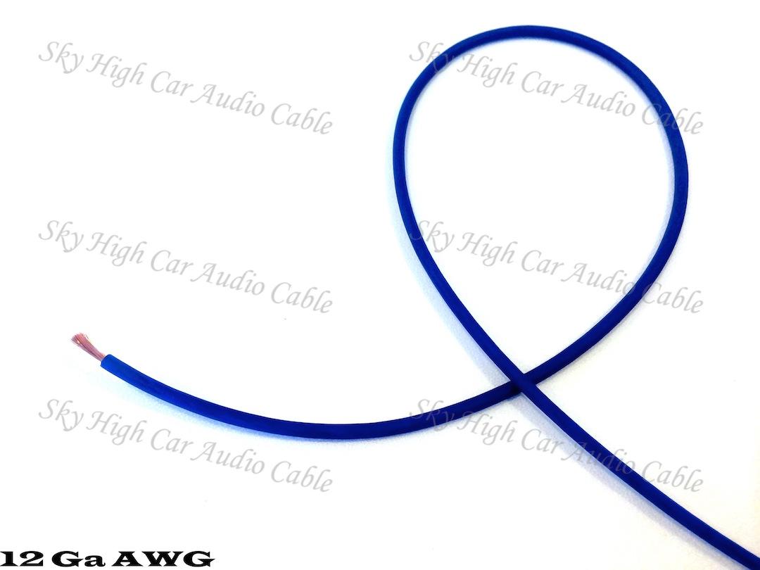 Sky High Car Audio CCA 12 Gauge Primary Wire 25ft-100ft