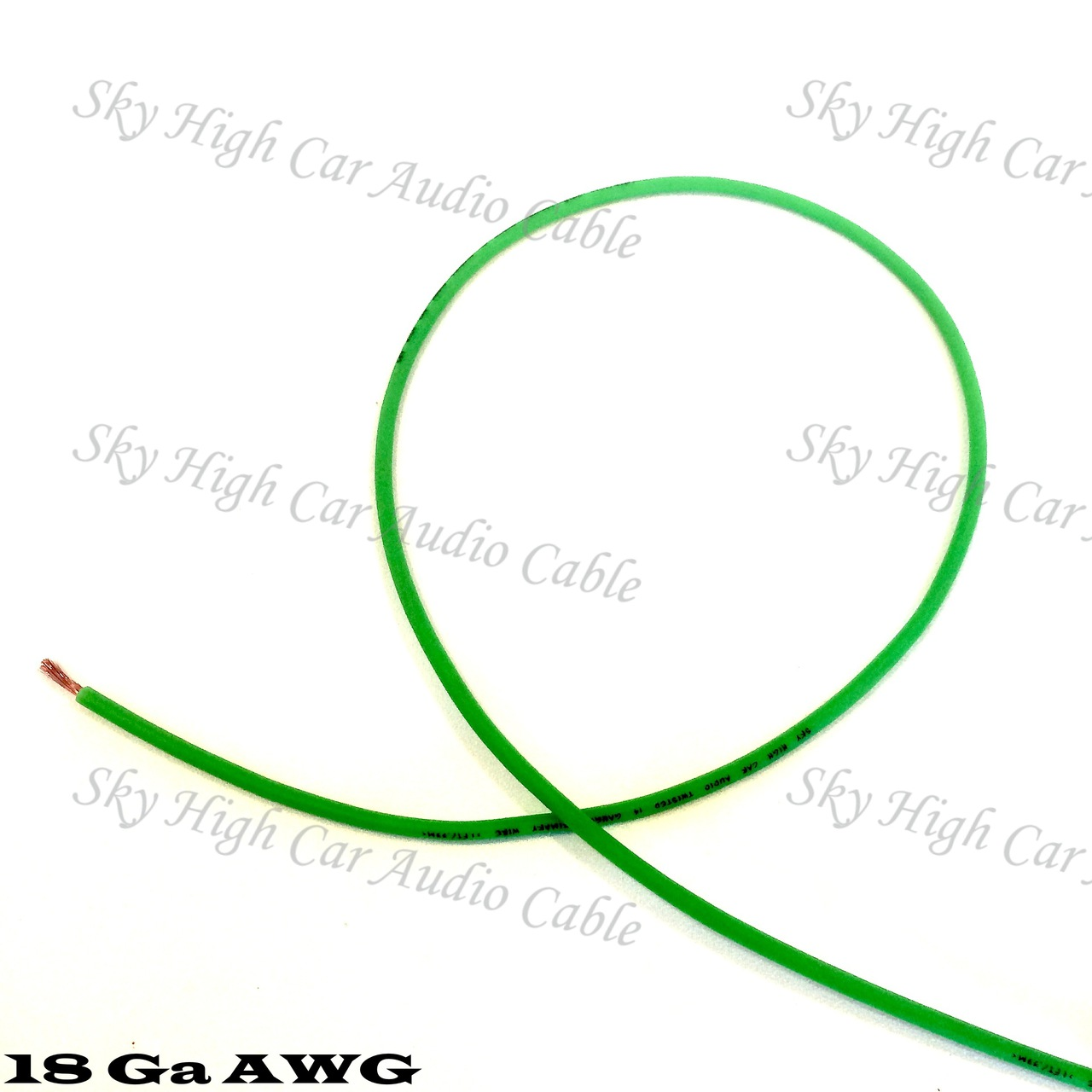 Sky High Car Audio CCA 18 Gauge Primary Wire 100ft-500ft