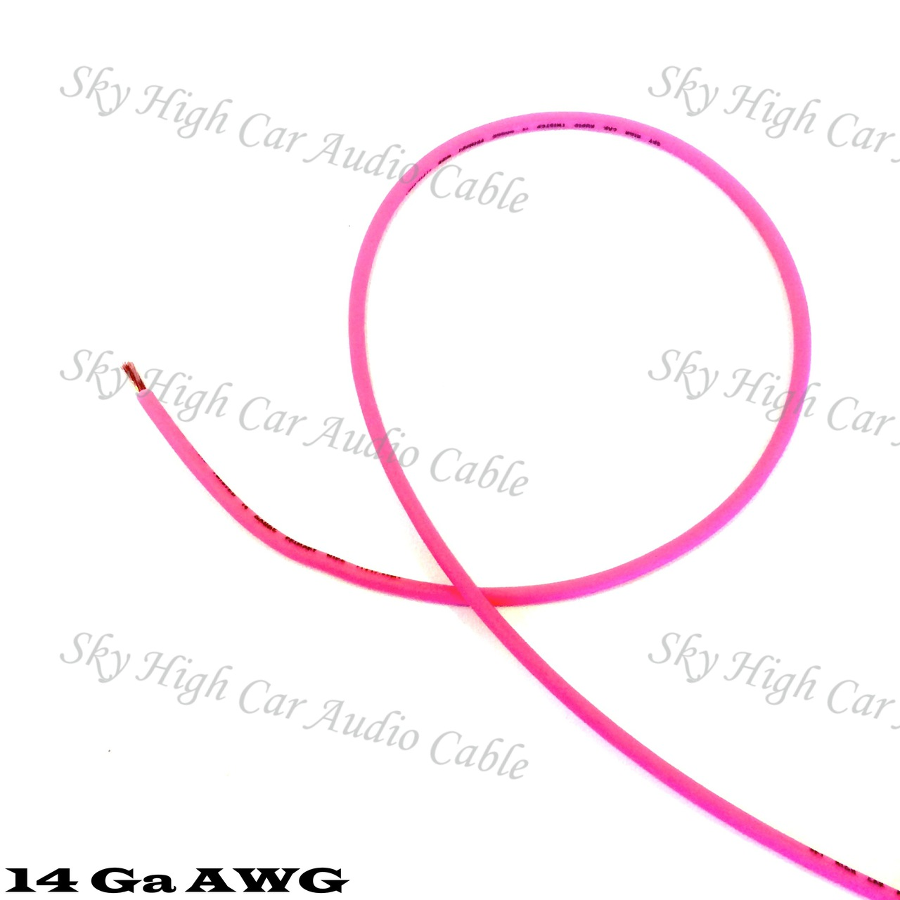 Sky High Car Audio OFC 14 Gauge Primary Wire 25ft-500ft
