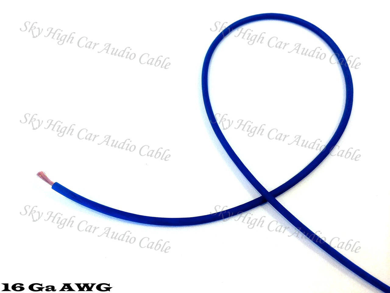 Sky High Car Audio OFC 16 Gauge Primary Wire- 500ft Spool 25ft-500ft