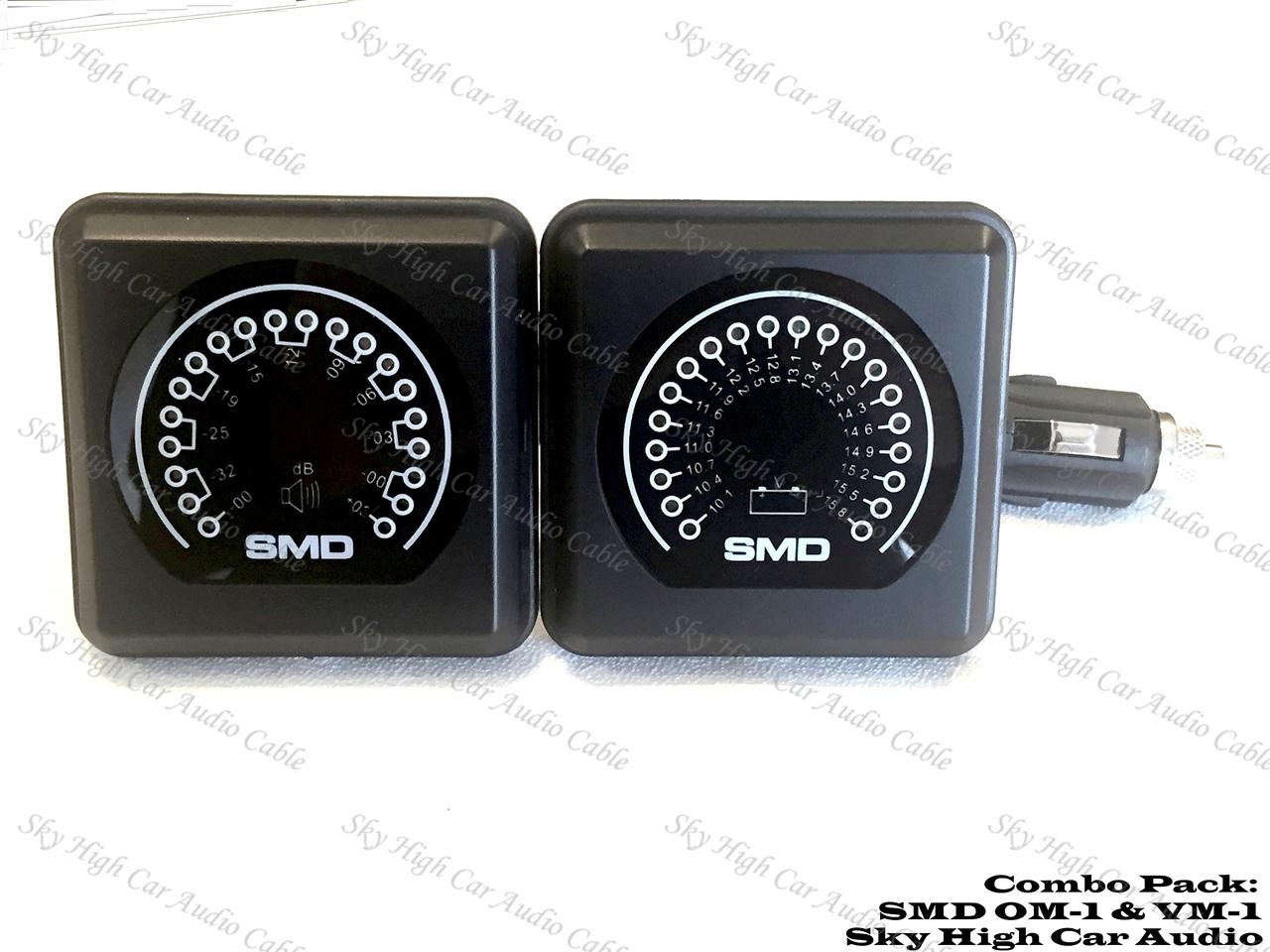 SMD Combo Pack VM-1 Volt Meter and OM-1 Output Meter