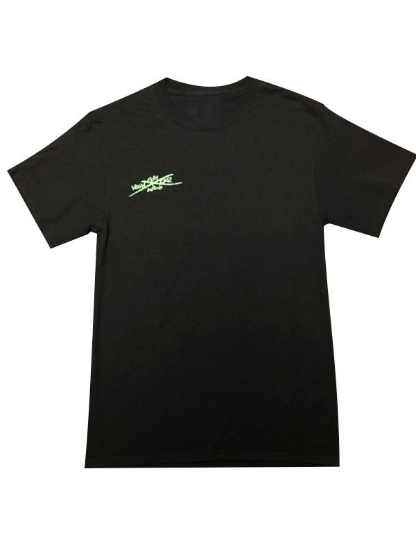 SHCA Faded T-Shirt Black w/ Green Logo