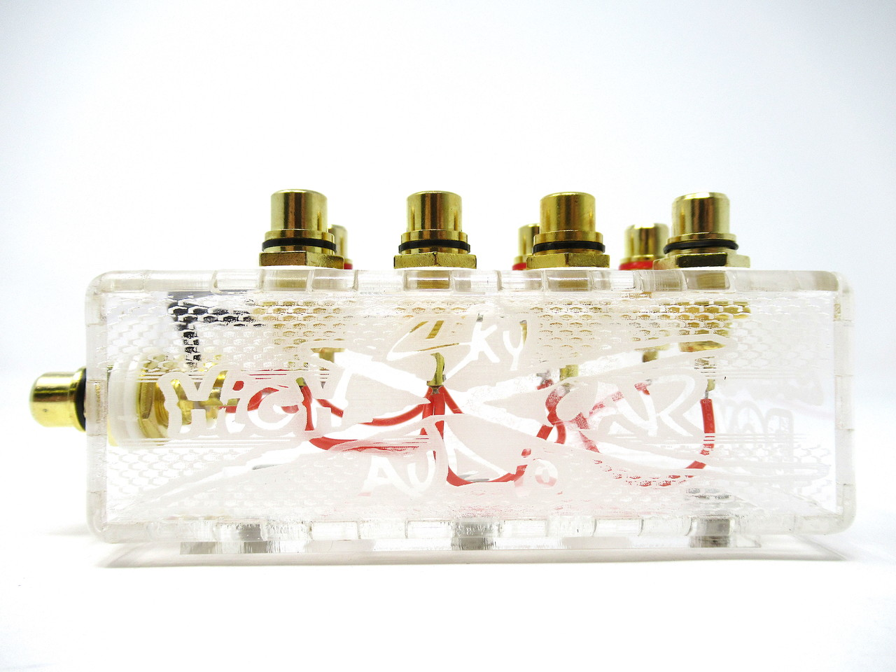 SHCA Clear 1 to 4 RCA Distribution block