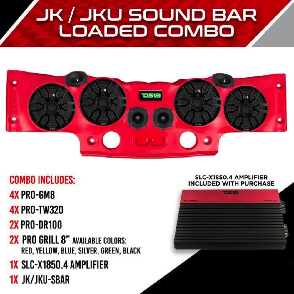 5fe636db JEEP JK/JKU LOADED SOUNDBAR STANDARD COMBO - Sky High Car Audio