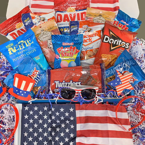 4th of July Gift Box - Sunglasses Included!