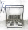 Stainless Steel Argentine Masonry Grill Kits with Rear Brasero and No Flange | Free Shipping*