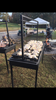 The Lilac - Charcoal Grill with Adjustable Grill Grate