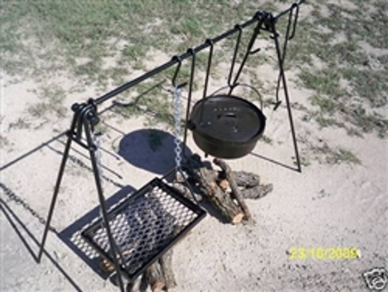 Dutch Oven & Grill Cook Set Plus Asado Cross | Free Shipping*