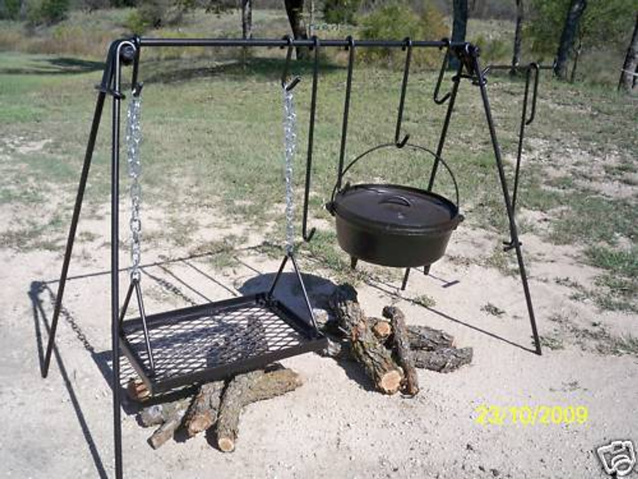 Dutch Oven & Grill Cook Set