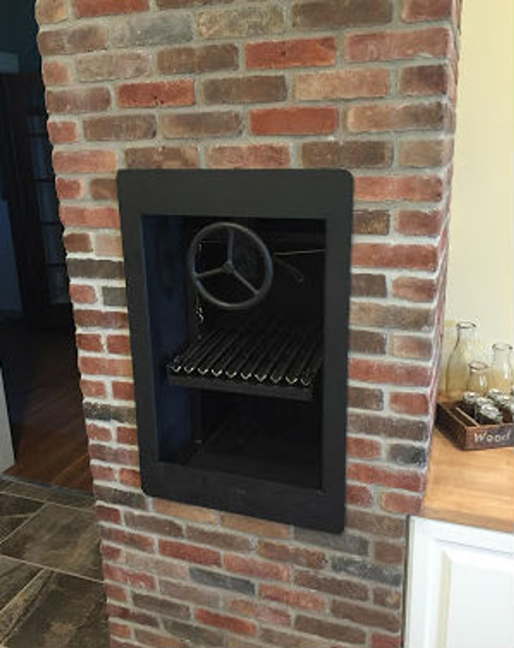 Asado Fireplace Grill Kit | Custom Order
