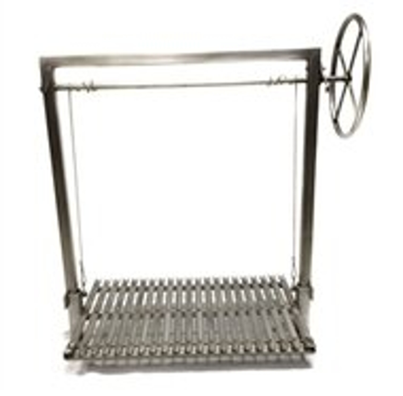 Stainless Steel Argentine Masonry Grill Kits with No Flange and No Brasero