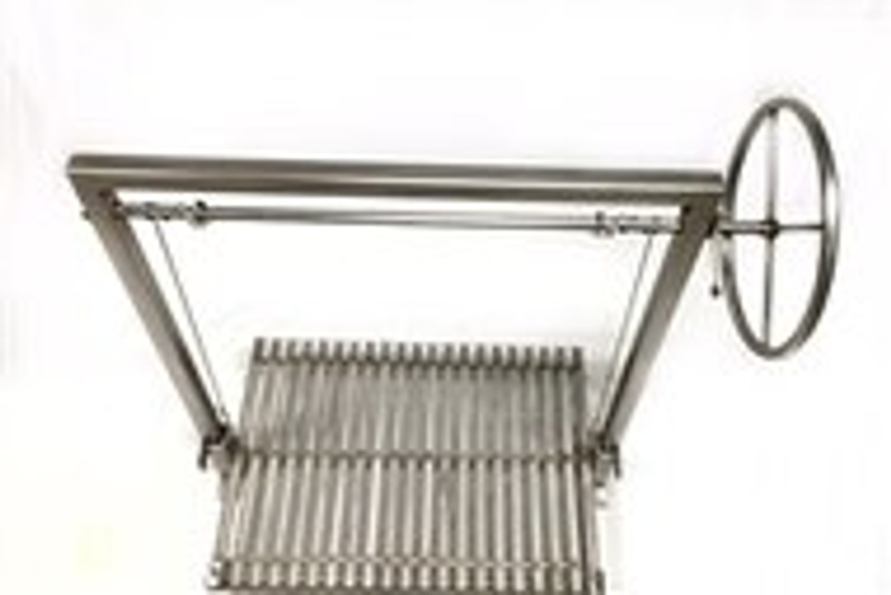 Stainless Steel Masonry Grill Kits with No Flange and No Brasero