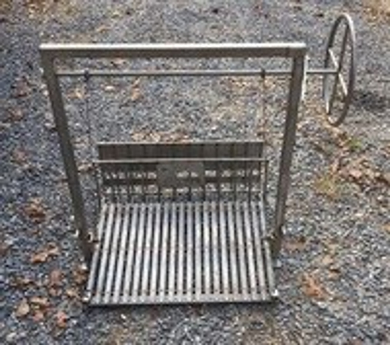 Stainless Steel Argentine Masonry Grill Kits with Rear Brasero and No Flange