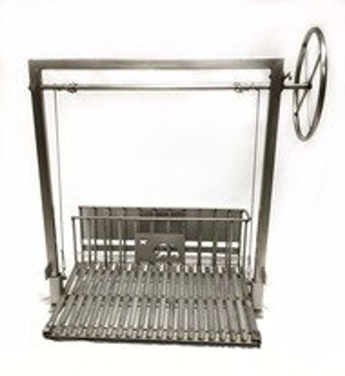 Stainless Steel Masonry Grill Kits with Rear Brasero and No Flange
