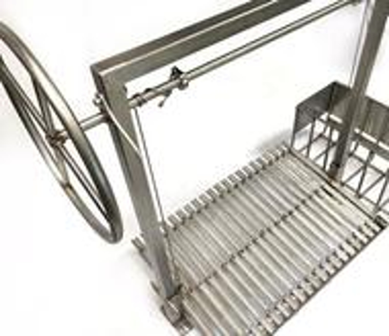 Stainless Steel Argentine Masonry Grill Kits with Side Brasero and No Flange