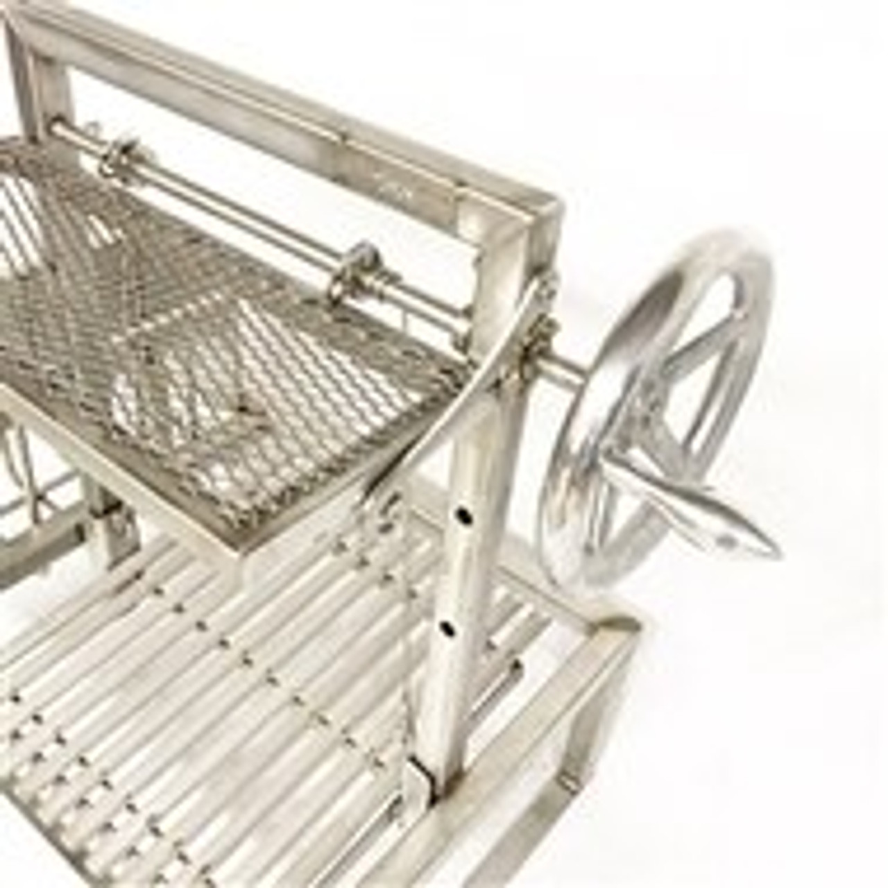 Stainless Steel Standalone Argentine Grill Kits with Brasero and Warming Rack | Free Shipping*