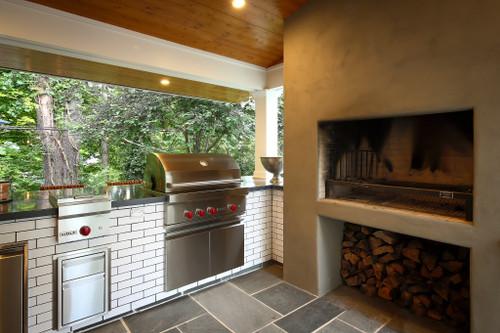 Uruguayan Fireplace Grill Kit