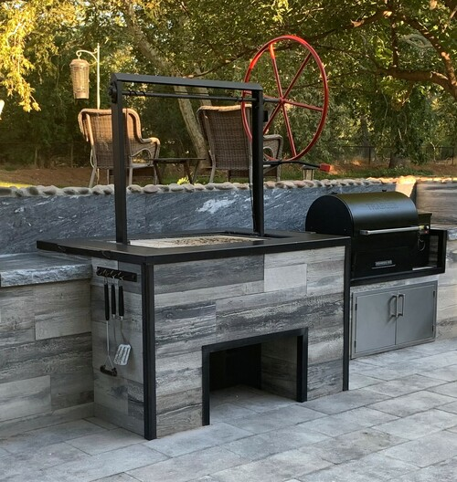 """Extreme Duty Grill Pit 