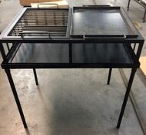 Armado Grill and Griddle Split | 36x24x30