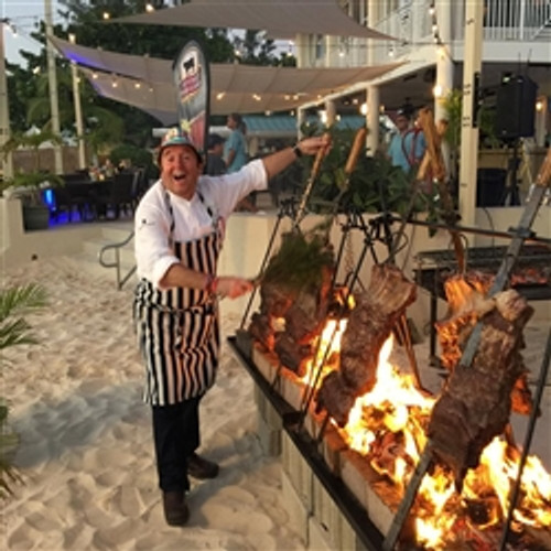 Chef Biggs Churrasco Swords Pkg for Grand Cayman 2016