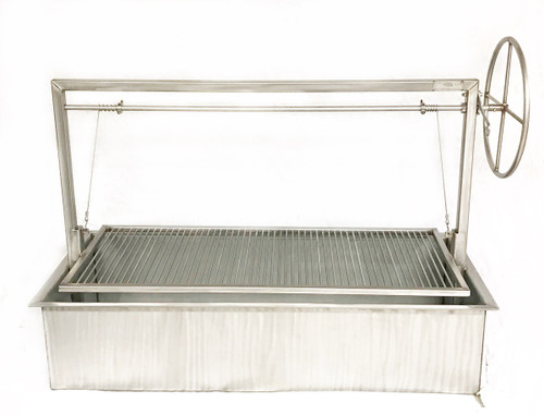 Stainless Steel Santa Maria Counter Drop In Grill
