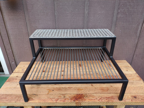 Table Grill with Warming Rack