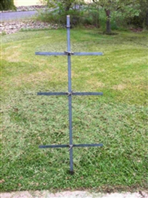 Asado Cross with Spear | 60 x 24 | Free Shipping*