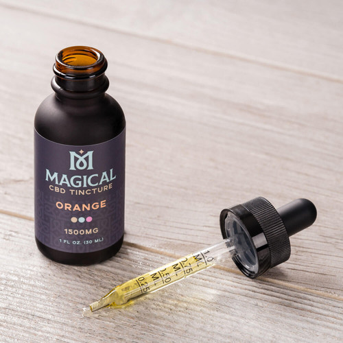Magical Orange CBD Tincture 1500mgs