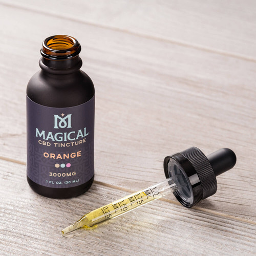Magical Orange CBD Tincture 3000mgs