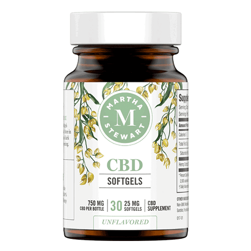 MARTHA STEWART CBD SOFTGELS 750mg